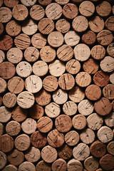 Wine corks texture