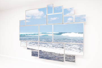 Window with beach view