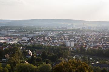 aerial view of Schwandorf