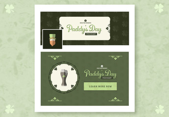 St. Patrick's Day Social Media Layout Kit