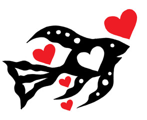 Fish and hearts