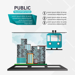 funicular cable car public transport urban background vector illustration eps 10