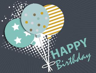 Happy Birthday theme for design
