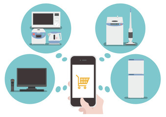 Buy electronics at the online shop