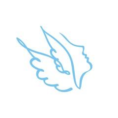 профиль с крыльями