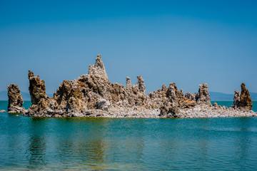 Mono Lake Tufas in California.
