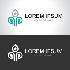 line decorative logo