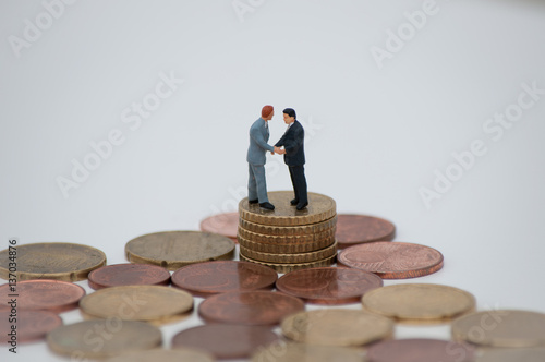 Geschäftsvereinbarung, Geschäftsabschluss, Partnerschaft\