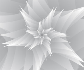 Abstract of white stars