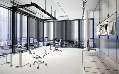 Penthouse Office (lazout)