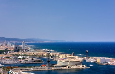 Le front de mer, Barcelone.