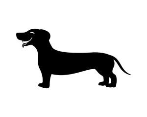 Dachshund dog sign.