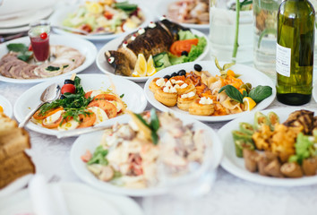 The wedding dishes