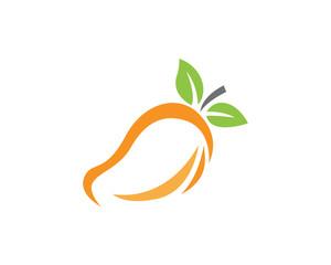 Mango logo template