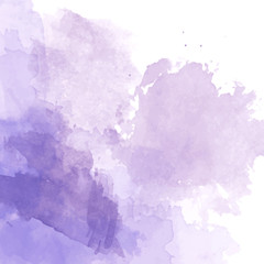 Violet watercolor background vector