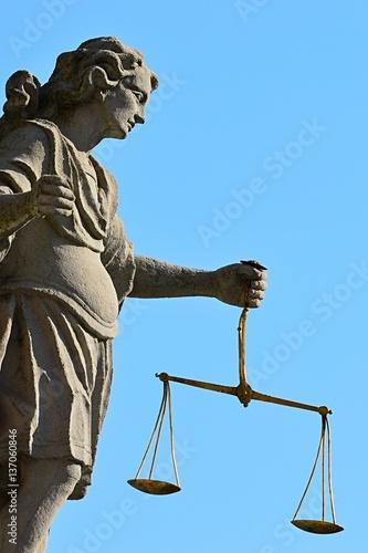 quotstatue of archangel michael angel of justice on