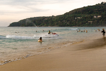 Beach landscape in Phuket