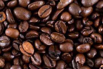 Coffee bean wall
