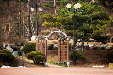 Park in the Korean city