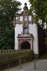 Gate to Wiesenburg Castle, Brandenburg, Germany
