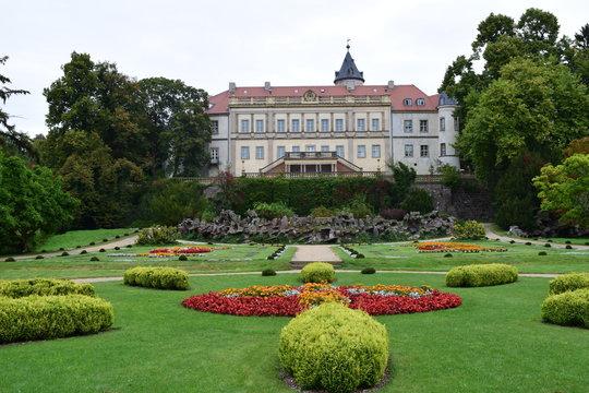 Schloss Wiesenburg, Brandenburg, Deutschland