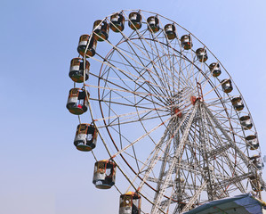 A Big swings/Giant wheels in Surajkund Crafts Fair