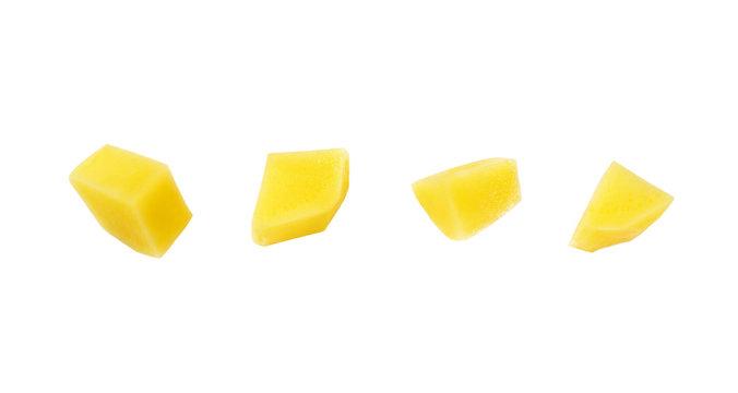 diced raw potato
