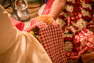 Indian Wedding Rituals- indian couple
