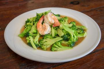 Stir-Fried Shrimp with Broccoli Recipe