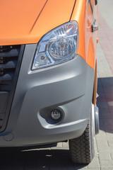 minibus close up detail