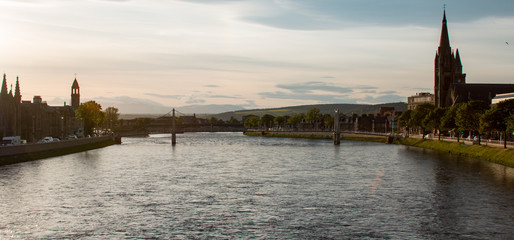 Dusk in Inverness