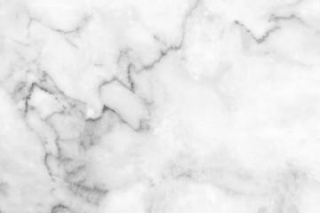 Photo sur Aluminium white and gray marble texture background. Marble texture background floor decorative stone interior stone.