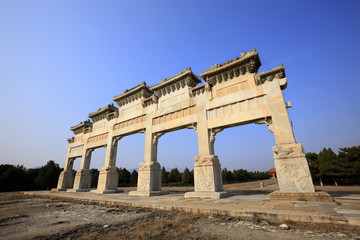 Chinese ancient stone arch