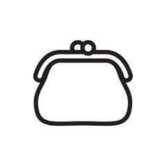 purse icon illustration