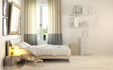 Schlafzimmereinrichtung (Vision)