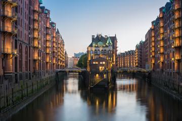 Hamburg WASSERSCHLOSS Speicherstadt
