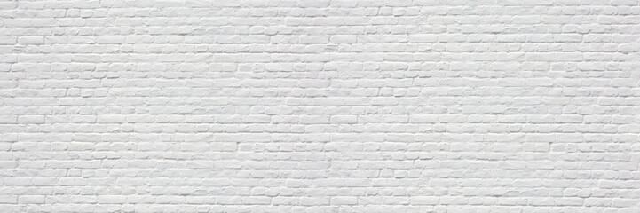 Mur en briques blanches