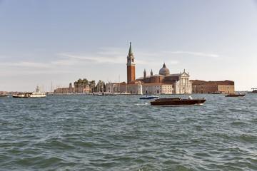 San Giorgio Maggiore island in Venice, Italy.