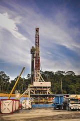 Drilling Land Rig