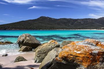 Beautiful Wineglass Bay, Tasmania, Australia