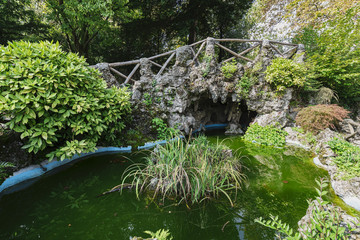 Varese (Italy):  Giardini degli Estensi, historic park