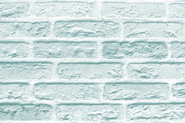 Blue bricks texture