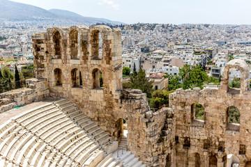Akropolis Theater Ausblick