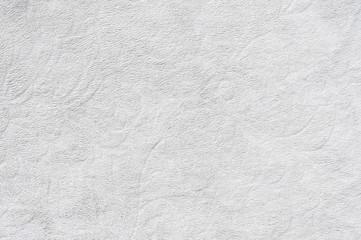Weisse Baumwolle / Weisse Baumwolle als abstrakter Hintergrund mit Textur.