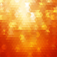 Abstract orange colorful vector background