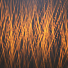 Illustration of Abstract Vector Fire. Motion Graphics Fire Flow Template