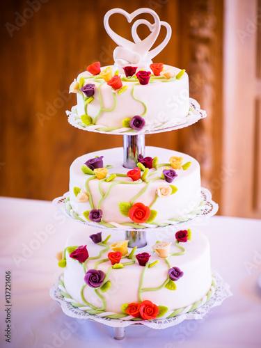 Die kleine Hochzeitstorte