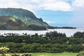 Hanalei coast, Kauai, Hawaii