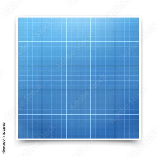 Blueprint Paper Background Vector Design
