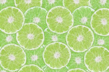 background of fresh  cut lemon